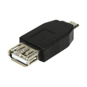 Logilink AU0029 - Adaptateur USB 2.0 type A femelle vers micro B mâle