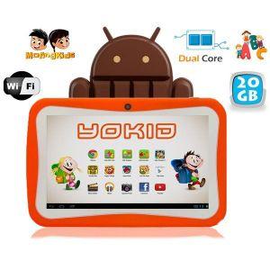"Yonis Yokid 20 Go - Tablette tactile 7"" éducative sous android 4.4"