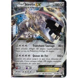 Asmodée Steelix - Carte Pokemon XY11 Offensive vapeur Ex Rare