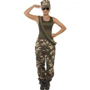 Déguisement de militaire femme