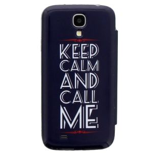 T'nB SGAL49CALM - Coque Folio '' Keep Calm'' pour Samsung Galaxy S4