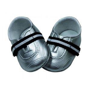 Gotz Chaussures argent pour poupée (45-50 cm)