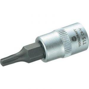 """Toolcraft Douille de 6,3 mm (1/4"""") avec embout Torx T15 de 37 mm"""