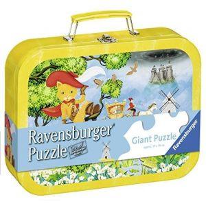 Ravensburger Chat Botte - Puzzle valise 60 pièces