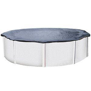 Abak C0127 - Bâche d'hiver pour piscine ronde hors sol en métal ou résine Ø 3,50/3,90 m.