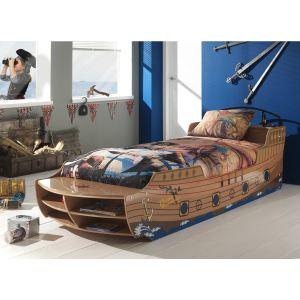 Lit bateau Pirate (90 x 200 cm)