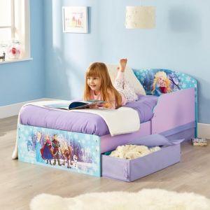 Worlds Apart Lit avec tiroirs de rangement Hello Home La Reine des Neiges (70 x 140 cm)