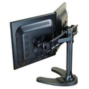 """Newstar FPMA-D700DD - Support de bureau pour 2 écrans 19 à 27"""" max 16 kg"""