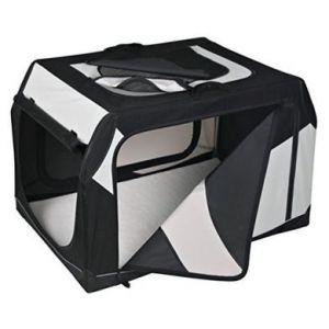 Trixie 39722 - Caisse de transport tissu rigide Vario pour chien taille S-M