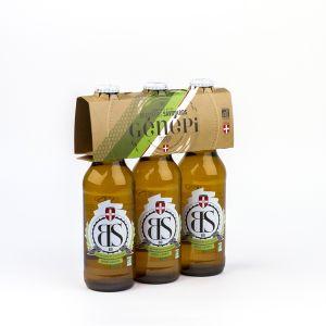 Brasseurs savoyards Bière BS Génépi Bio 3x33cl