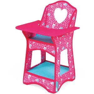 Janod Chaise haute Birdy Paradise pour poupées (32 et 36 cm)