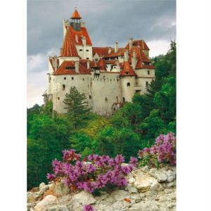 Dtoys Château de Bran, Roumanie - Puzzle 1000 pièces (modèle 2)