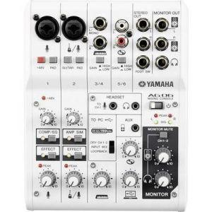 Yamaha AG06 - Console série AG