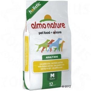 Almo Nature Holistic Chiens Medium - Poulet 12 kg