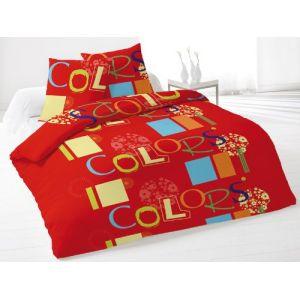Soleil d'Ocre Colors - Housse de couette et 2 taies (220 x 240 cm)