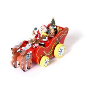 Legler 5136 - Boîte à musique Calèche de Noël