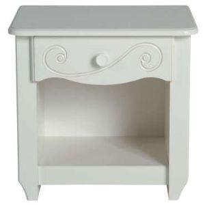 chevet blanc conforama comparer 65 offres. Black Bedroom Furniture Sets. Home Design Ideas