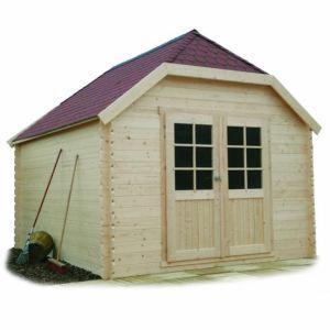 Solid S8505 - Abri de jardin Limerick en bois 28 mm 10 m2