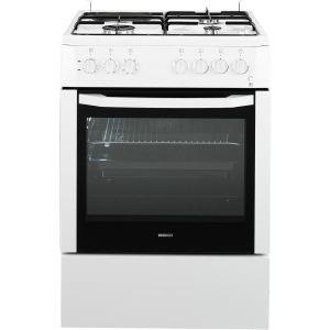 achat beko cse63110d cuisiniere mixte 3 feux gaz 1 plaque et four lectrique. Black Bedroom Furniture Sets. Home Design Ideas