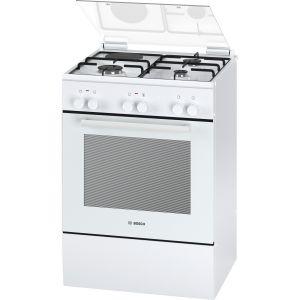 Bosch HGD72D222F - Cuisinière mixte 4 foyers gaz avec four électrique