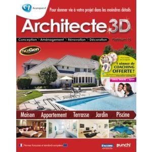Architecte 3d platinium comparer 5 offres for Architecte 3d amazon