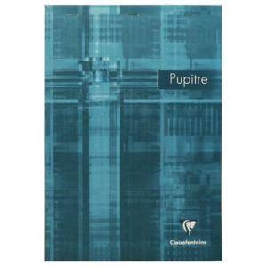 Clairefontaine Bloc Pupitre Agrafé 160 pages ligné avec marge (A4)
