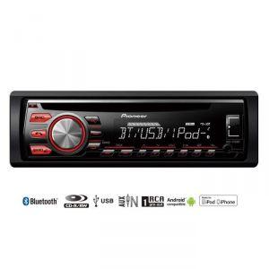 Pioneer DEH-4700BT - Autoradio MP3/WMA/USB/iPhone/Android Bluetooth (4 x 50 Watts)