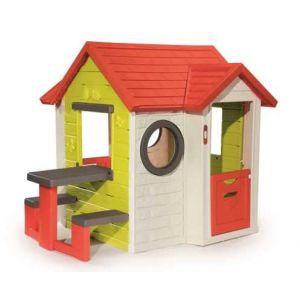 Smoby Maison My House + table pique-nique