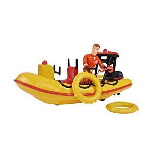 Simba Toys Le bateau Neptune Sam Le Pompier