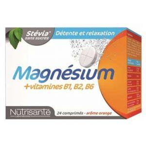 Nutrisanté Magnésium + vitamines b1, b2, b6 - 24 comprimés