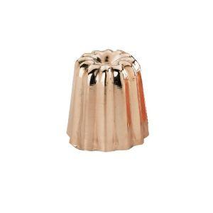 De Buyer 6820.55 - Petit moule cannelé Bordelais en cuivre (55 cm)