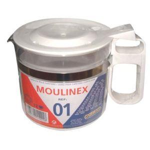 Moulinex 340001 - Verseuse en verre pour cafetière 12 tasses