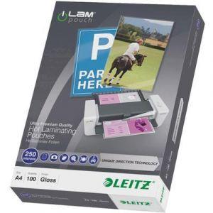 Leitz 100 pochettes de plastification iLam UDT A4 250 microns