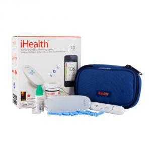 Image de Ihealth IHBG5-KIT - Pèse-personnes Wireless smart glucometer with consumables kit