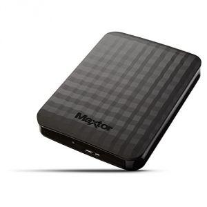"Maxtor STSHX-M101TCBM - Disque dur externe M3 Portable 1 To 2.5"" USB 3.0"