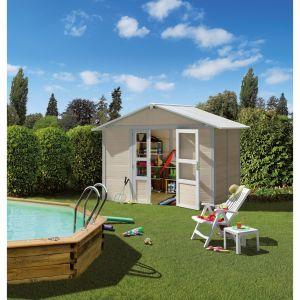 Grosfillex Basic - Abri de jardin en PVC 7,53 m2