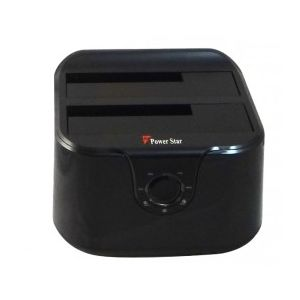 Power star USB3-SA-COPIE-DD - Station d'accueil et de copie pour disque dur SATA USB 3.0