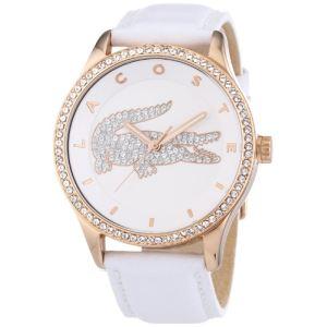 Lacoste 2000821 - Montre pour femme avec bracelet en cuir Victoria