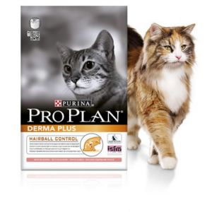 Purina Pro Plan Chat Derma Plus Saumon - Sac 3 kg