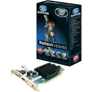 Sapphire Technology 11166-02-20R - Carte graphique Radeon HD 5450 Low Profile 1 Go DDR3 PCI-E 2.0