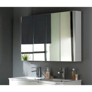 Armoire miroir salle de bain 120 cm comparer 50 offres - Armoire miroir salle de bain 120 cm ...