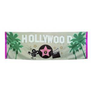 Bannière polyester Hollywood