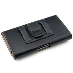 Kwmobile 10922 - Housse élégante en cuir avec clip ceinture pour Samsung Galaxy Note N7000