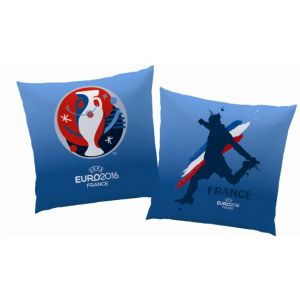 Coussin carré UEFA Euro 2016 France (40 cm)