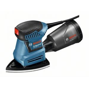 Bosch Professional GSS 160-1 A Multi  + L-Boxx (06012A2300) - Ponceuse vibrante 180W + 3 accessoires