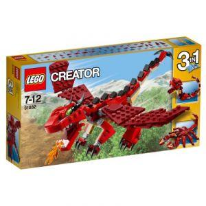 Lego 31032 - Creator : Les créatures rouges