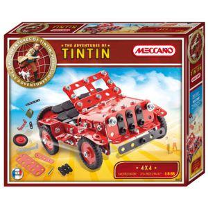 Meccano 830551 - Les aventures de Tintin : 4x4