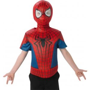 Rubie's Plastron Spiderman Amazing 2 et cagoule