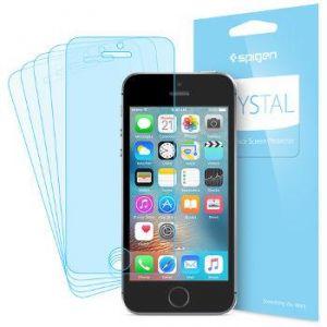 Spigen sgp 041FL20165 - Protection d'écran x3 pour iPhone SE