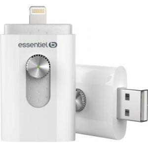 EssentielB Clé USB Lightning 16 Go pour iPhone et iPad